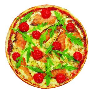 №834 / Пицца с лососем
