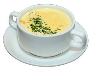 №1040 / Крем-суп сырный