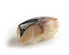 №47 / Нигири суши со скумбрией