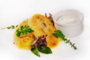 Зразы картофельные с грибами и сметаной 250гр-230р